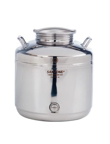 Fut inox 15 litres sansone