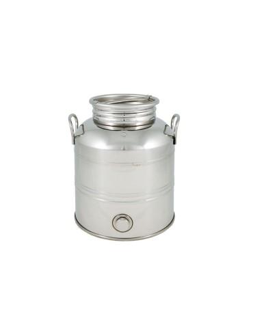 Fût inox 5L avec robinet anti-goutte Superfustinox